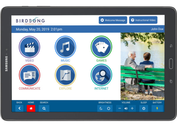Birdsong 10 Inch Tablet