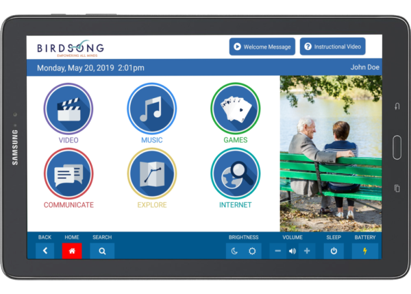 Birdsong Tablet for Seniors